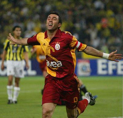 hakan-sukur Şampiyonlar Ligi'nde En Çok Gol Atan Türk Futbolcular!