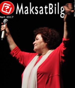 MaksatBilgi Mart 2017 Kapağı -Selda Bağcan