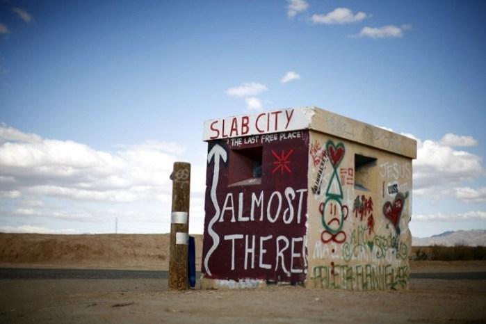 Slab City, Kaliforniya Dünyadaki En İlginç 10 Şehir