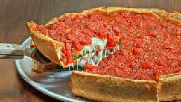 Deep Dish Pizza Tarifi
