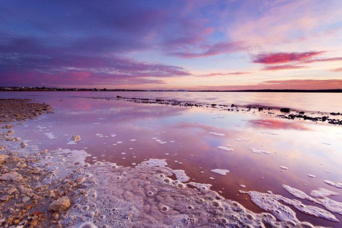 Şaşırtıcı Ama Gerçek: Dünyadaki Pembe Göller