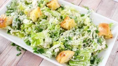 sezar salata 1 - Sezar Salata Tarifi