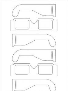 3 boyutlu gozluk yapimi 3D Gözlük Yapımı! El Yapımı 3 Boyutlu Gözlük