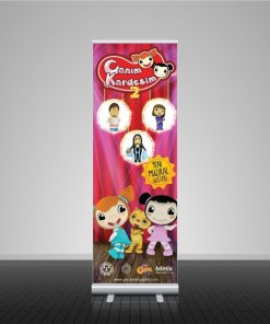 Roll Up Banner 60cm x 180cm