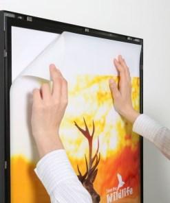 Magneco Poster LED Light Box Tek Taraflı