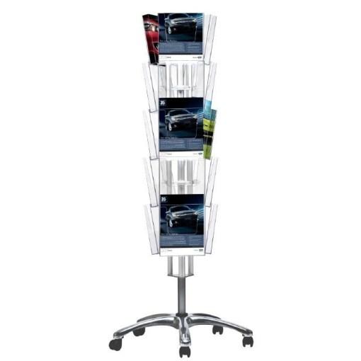 Multi Side Broşür Set Tekerlekli 3x5
