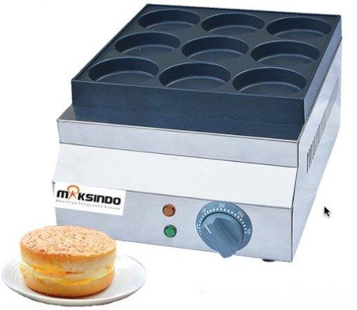Mesin Burger Telur Serbaguna (Gas- BURG9) 3 maksindo