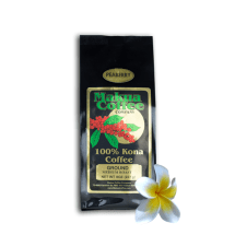 Makua Coffee Company 100% Kona Coffee Peaberry Medium Roast 8 oz bag