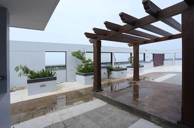 View Of The Terrace - Silver Linden Calicut - Malabar Developers