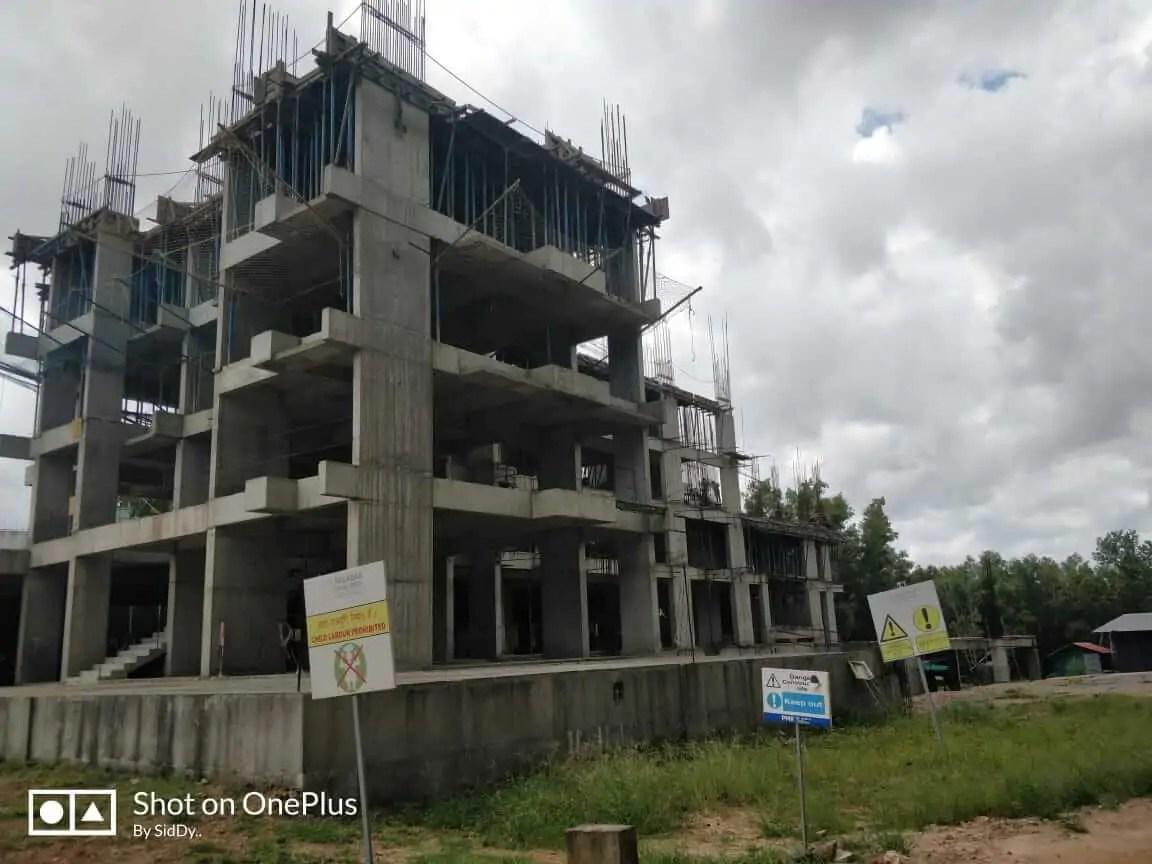 Construction Status August 2018