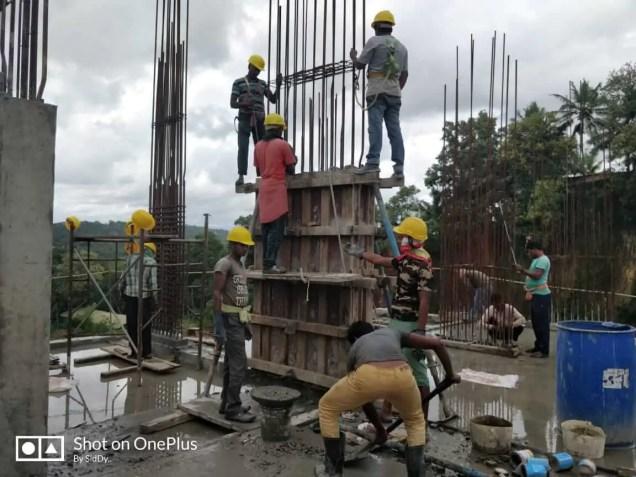 Construction Status August-3 2018