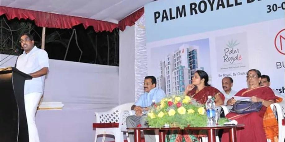 Palm Royale Calicut - Launch - Malabar Developers