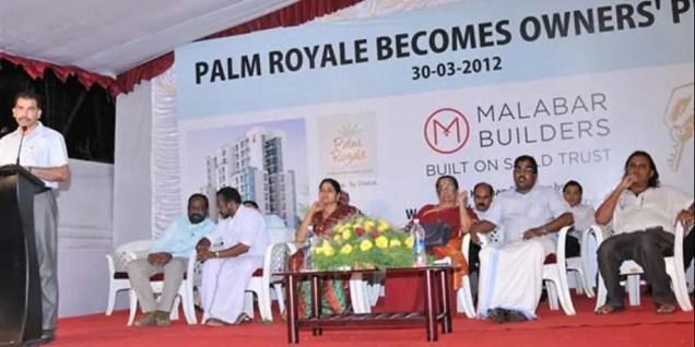 Launch Speech - Palm Royale Calicut