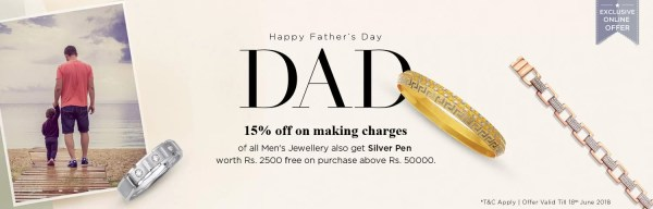 Father's Day Gift Offers   Gifts for Dad   Malabar Gold ...
