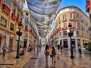 Calle larios, Centro de Málaga