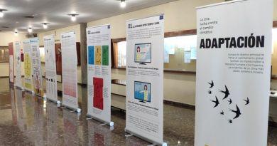 """La exposición """"Adaptación: la otra lucha contra el cambio climático"""" en Málaga"""