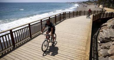 La senda que recorrerá la Costa del Sol de punta a punta está lista al 85 %