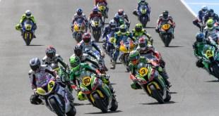 Carrera de motos en el Circuito de Jerez