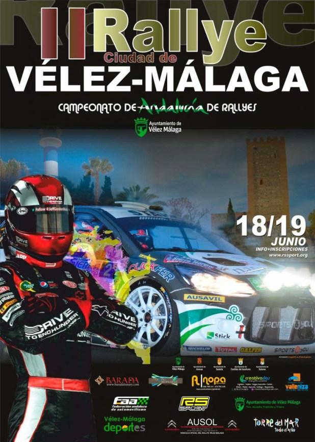 Cartel Oficial Rallye Vélez Málaga 2016