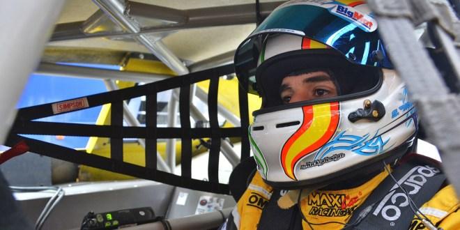 El piloto malagueño Salvador Tineo