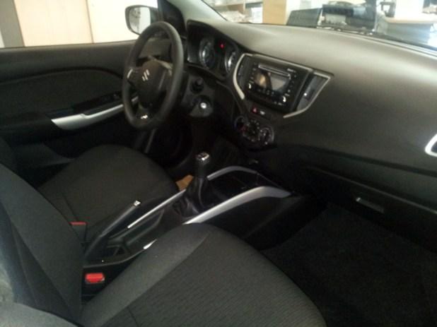 Interior Nuevo Suzuki Baleno
