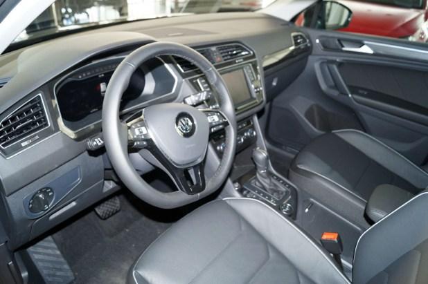 Aspecto interior del Nuevo Volkswagen Tiguan