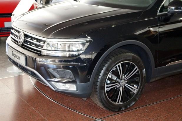 Detalle del frontal del Nuevo Volkswagen Tiguan