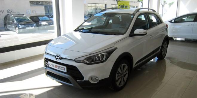 Hyundai i20 Active en Gibralfaro Motor