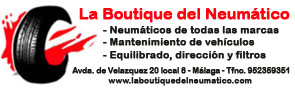 Publicidad La Boutique del Neumático