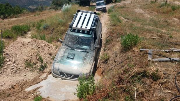 Nissan Patrol 4x4 en el Circuito Almejí