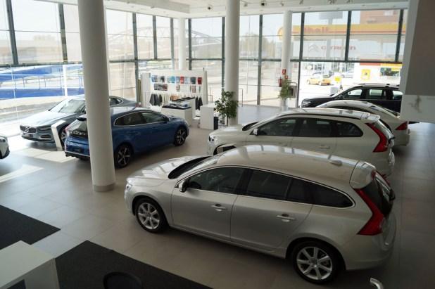 Exposición Volvo Vypsa Málaga