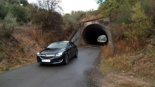Las carreteras que rodean Casa La Nuez fueron ideales para realizar la prueba dinámica del Opel Insignia cedido por Opel Gálvez Motor.