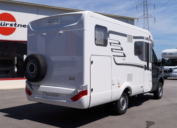 Mercedes Hymer ML580 4x4