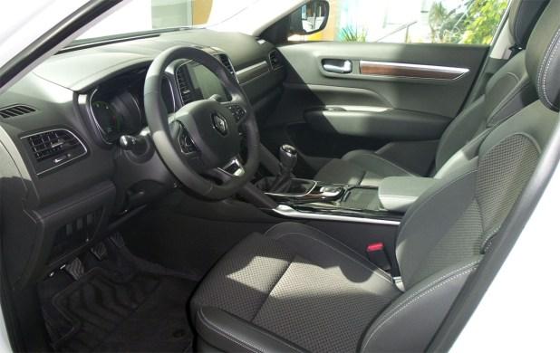 Interior Nuevo Renault Koleos