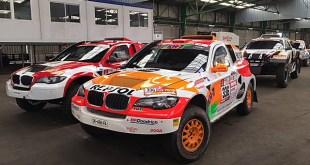 Los vehículos que participarán en el Rally Dakar ya viajan rumbo a Perú