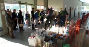 Corazones Solidarios recoge más de 1000 kilos  de alimentos gracias a la Ruta Solidaria 4×4 Málaga