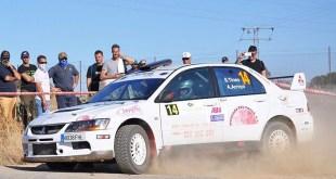 Tercera posición en el andaluz para Salvador Tineo en el Rally de Pozoblanco