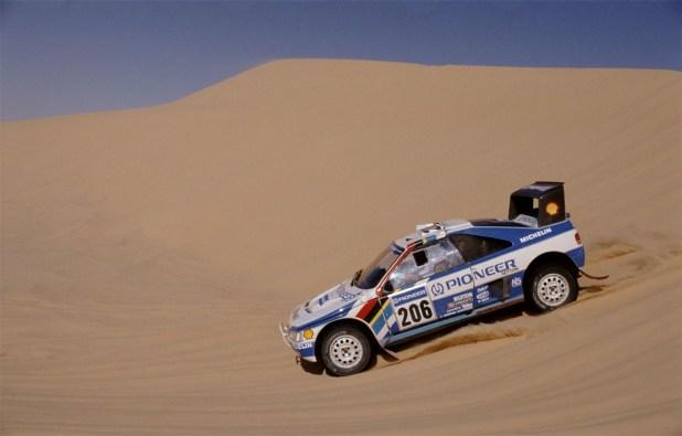 Peugeot 405 Turbo Paris Dakar 1989