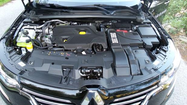 Motor diésel del Renault Talismán.
