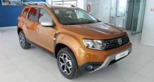 Tahermo recibe las primeras unidades de un renovado Dacia Duster
