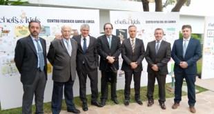 El proyecto solidario Chefs&Kids llega a Marbella de la mano de Alfa Romeo y Kymco