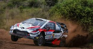 El piloto estonio, Ott Tanak, con Toyota Yaris WRC, se impone en Argentina