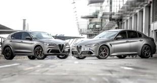 Alfa Romeo presenta nuevas series limitadas de sus modelos Giulia y Stelvio