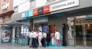 Vespa Málaga inaugura sus nuevas instalaciones