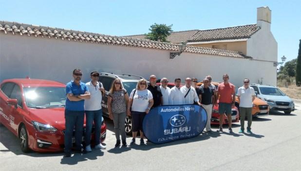 Final de la ruta en Venta Galwey en los Montes de Málaga.