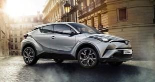 El Toyota C-HR lidera el mercado nacional de tecnologías alternativas