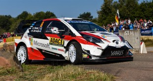 Victoria para Toyota con Yaris WRC en el Rally de Alemania