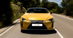 Comienza la producción del nuevo Lexus LC 500h Yellow Edition