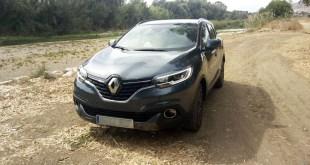 Sistema de tracción Extended Grip en el Renault Kadjar