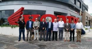 Servihonda presenta sus nuevas instalaciones a la Prensa del Motor de Málaga